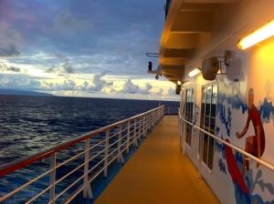 Hawaiian Ocean View at Twlight